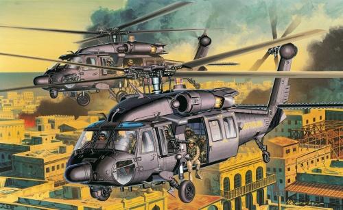 Рисованные вертолеты (32 фото)