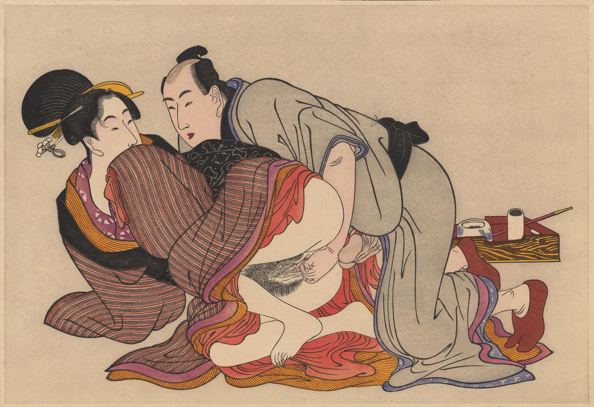 Художественная китайская секс