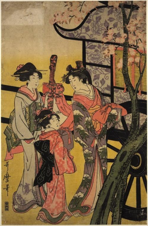 Artworks by Kitagawa Utamaro (1753-1806) (1446 работ) (Часть 4)