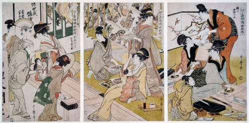 Artworks by Kitagawa Utamaro (1753-1806) (1446 работ) (Часть 4)
