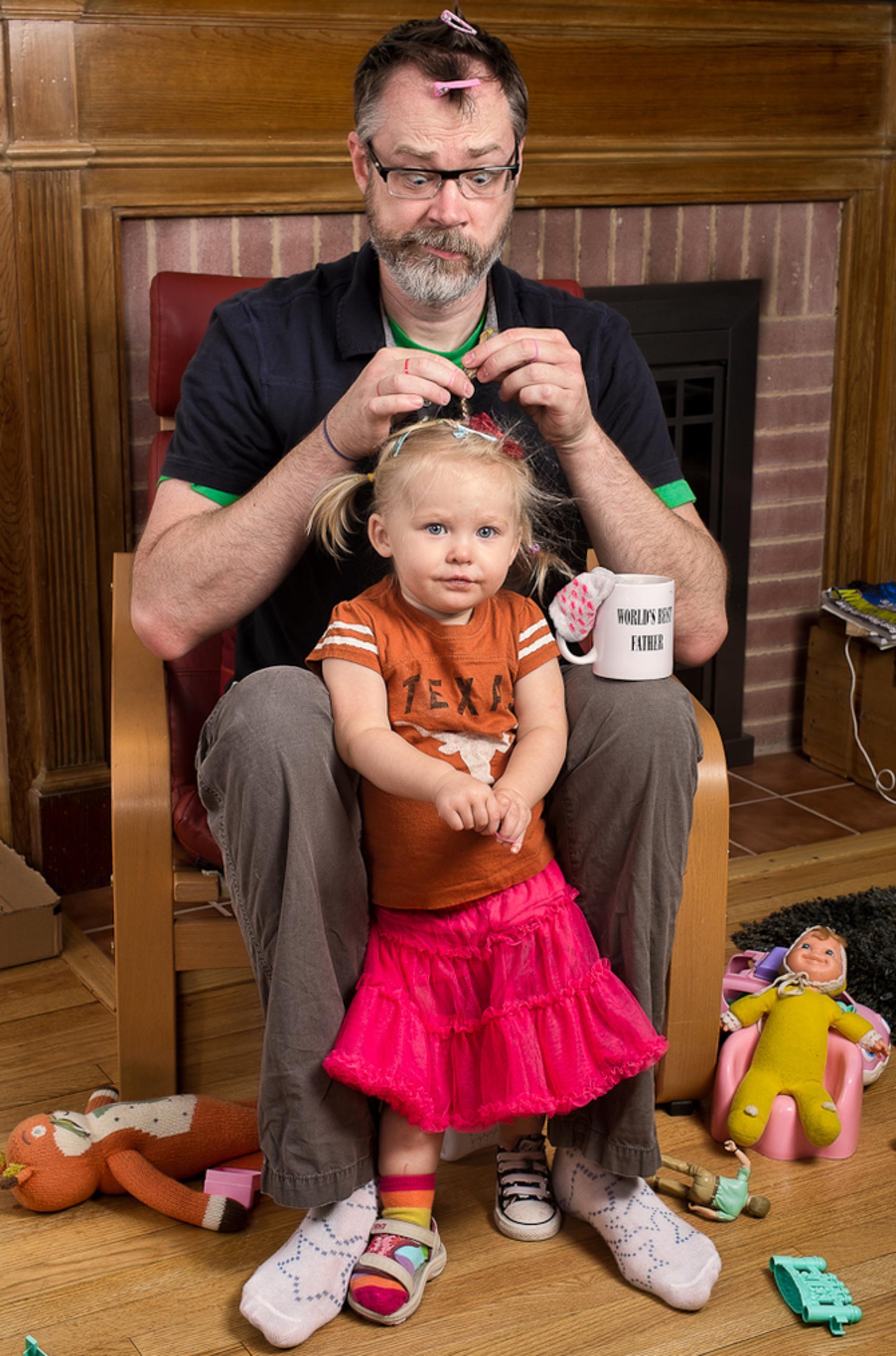 Рыжая дочь и отец 21 фотография