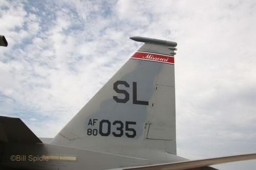 Фотообзор - американский истребитель F-15C Eagle (80-0035) (42 фото)