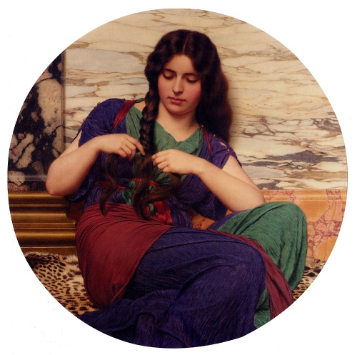 Британский художник John William Godward (1861 – 1922) (134 работ)