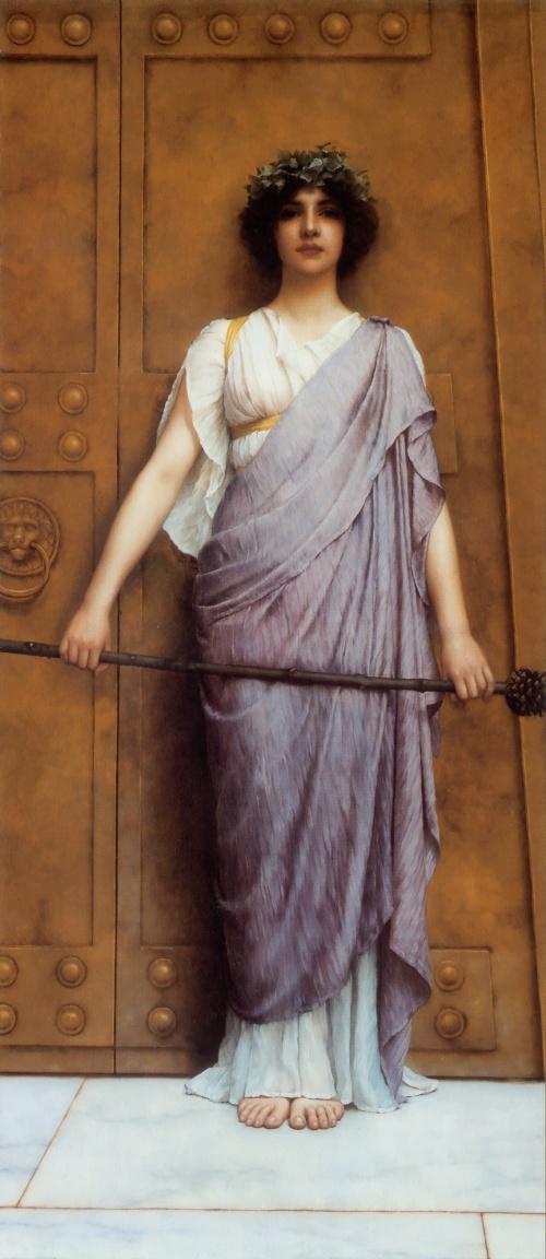 Британский художник John William Godward (1861 – 1922) (134 фото)