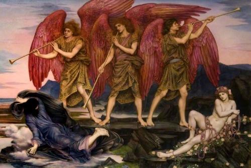 Английский художник Evelyn De Morgan (1855-1919) (88 фото)