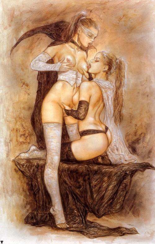 Секс в рисунках луиса ройо