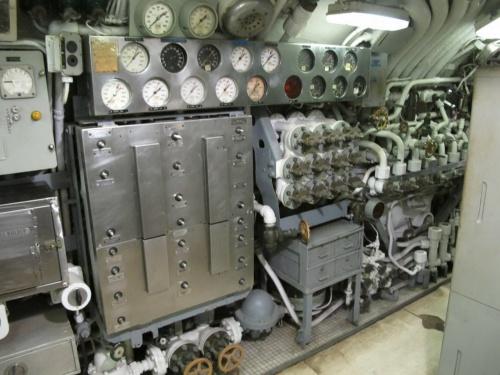 Фотообзор - американская подводная лодка USS Clamagore SS-343 (167 работ)