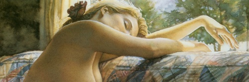 Акварели Стива Хэнкса / Steve Hanks's water colors (187 фото)