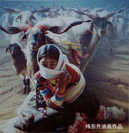Суровый Тибет Mei Dongsheng (282 работ)