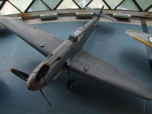 Фотообзор - немецкий истребитель Messerschmitt Bf 109G-2 14792 (27 фото)