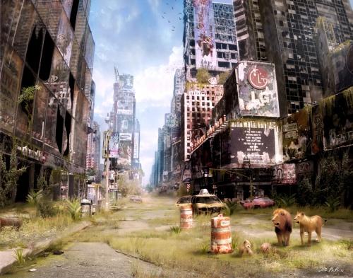 Апокалипсис - глазами Владимира Манюхина (46 работ)
