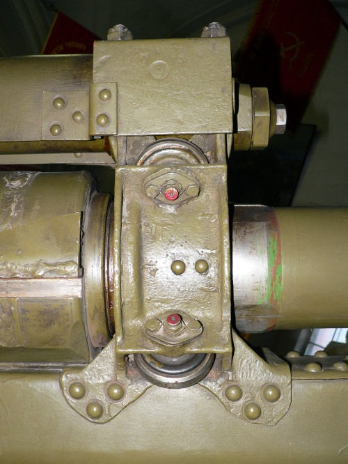 Фотообзор - советская 122mm M-30 гаубица образца 1938 года (205 фото)