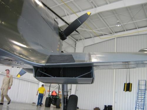 Фотообзор - британский истребитель Supermarine Spitfire Mk.IX (28 фото)