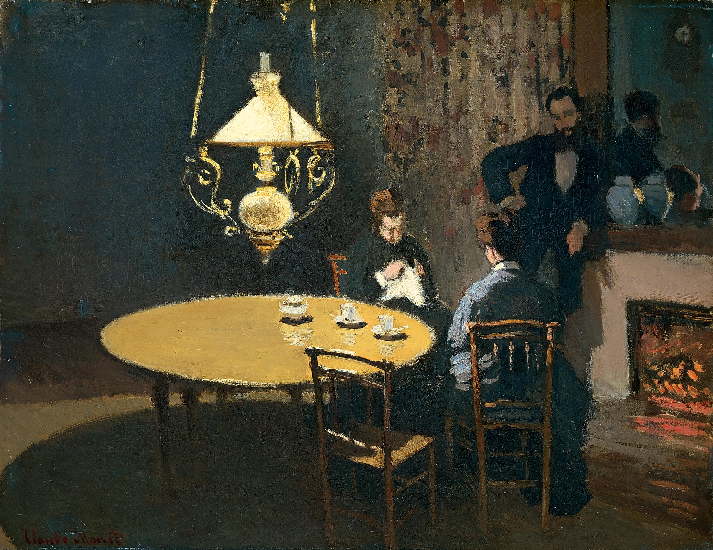 Произведения Клода Моне / Artworks by Claude Monet (153 работ) » Страница 5  » Картины, художники, фотографы на Nevsepic