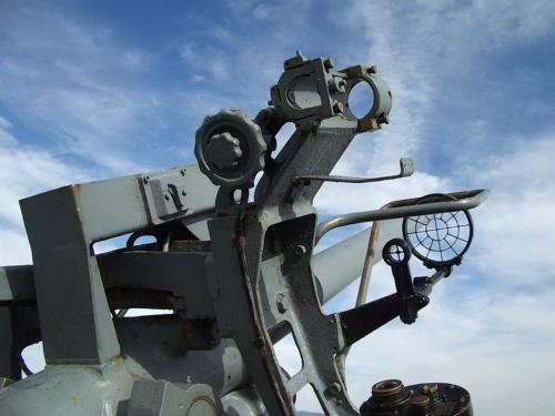 Фотообзор - американское зенитное орудие US 3