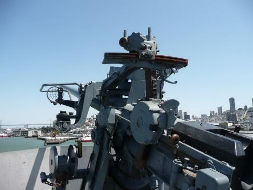 """Фотообзор - американское зенитное орудие US 3""""/50 (54 фото)"""