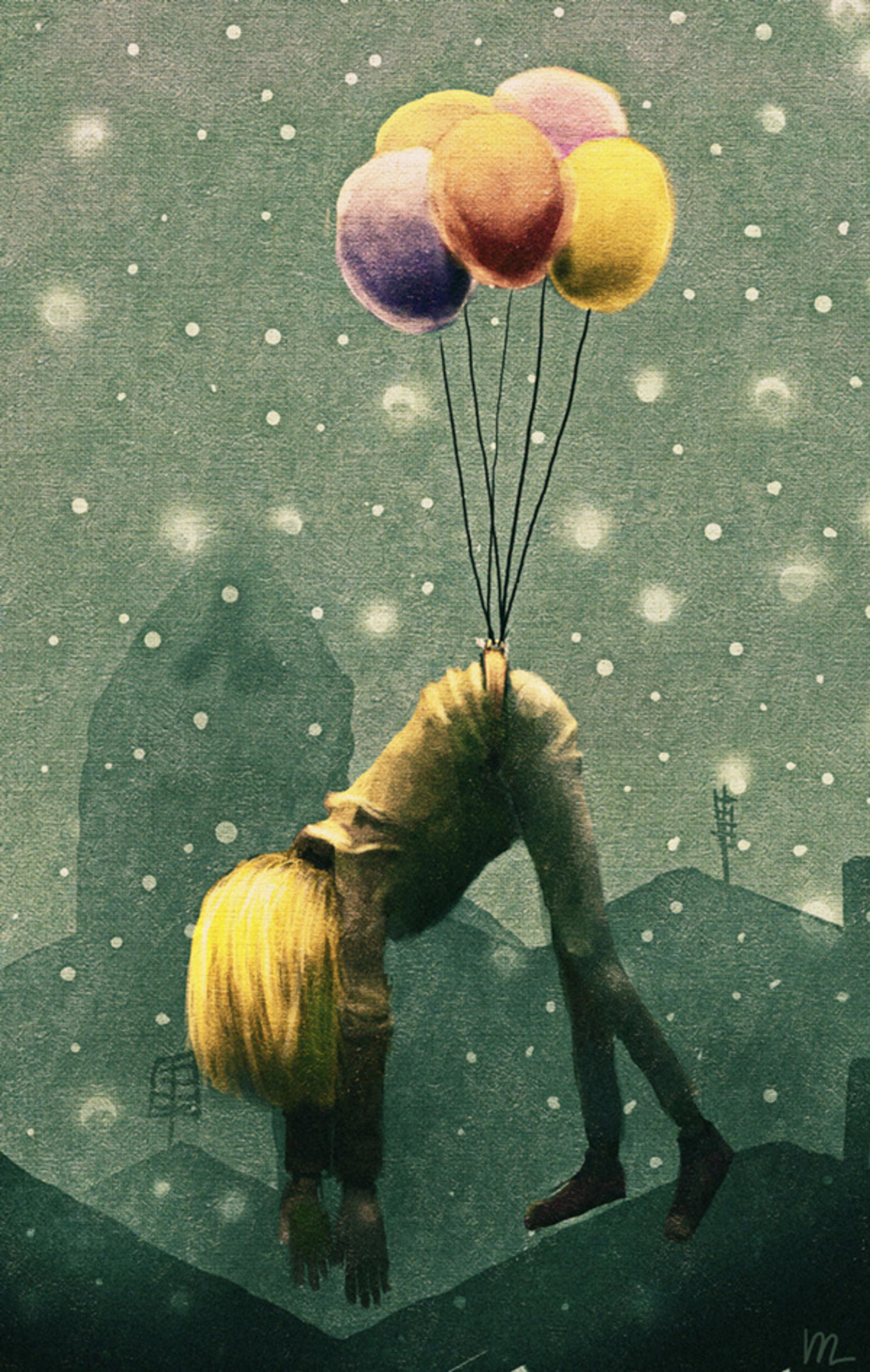 тут кроется толкование сна лететь на воздушном шаре вумные
