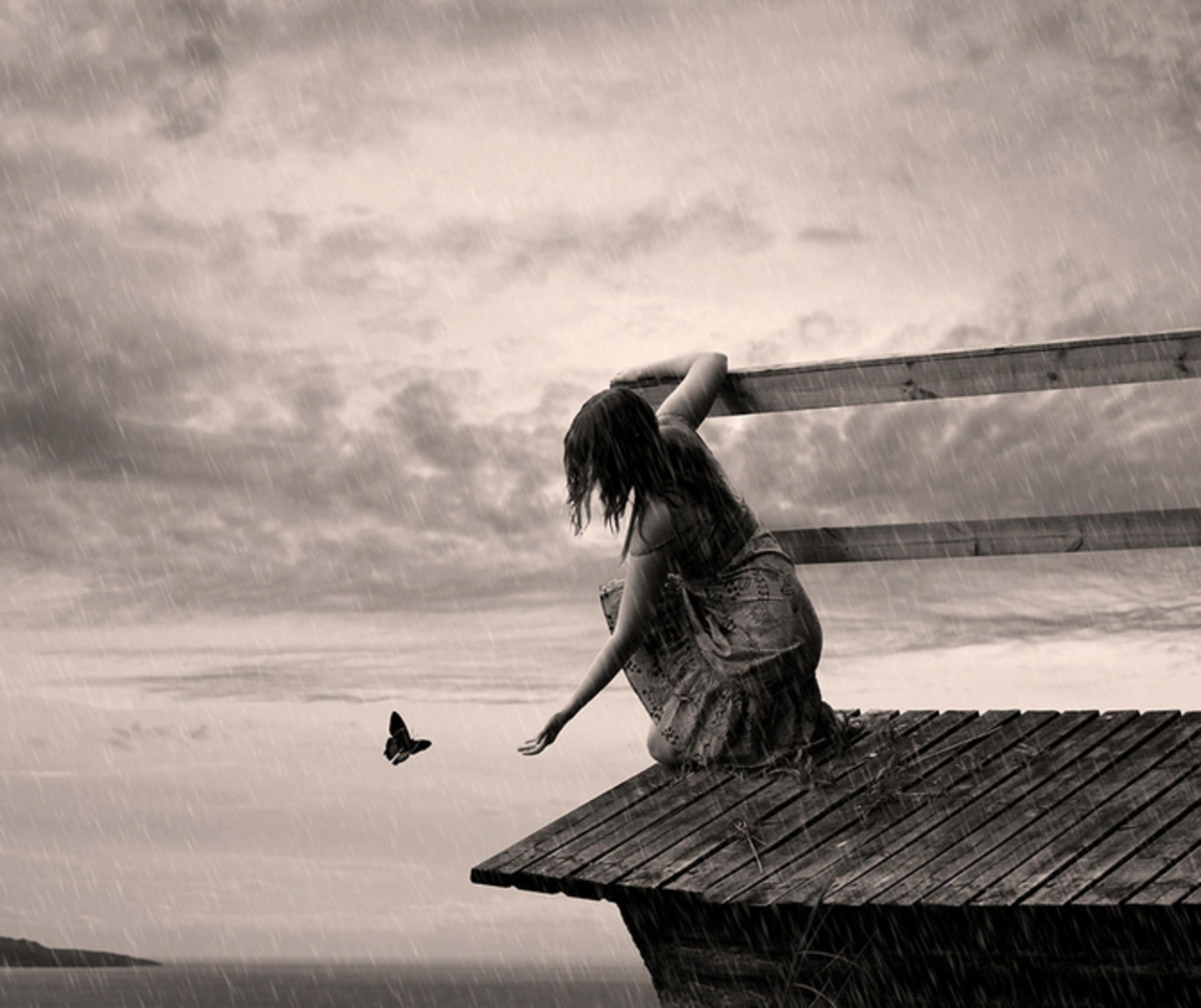 одиночество в картинках без людей