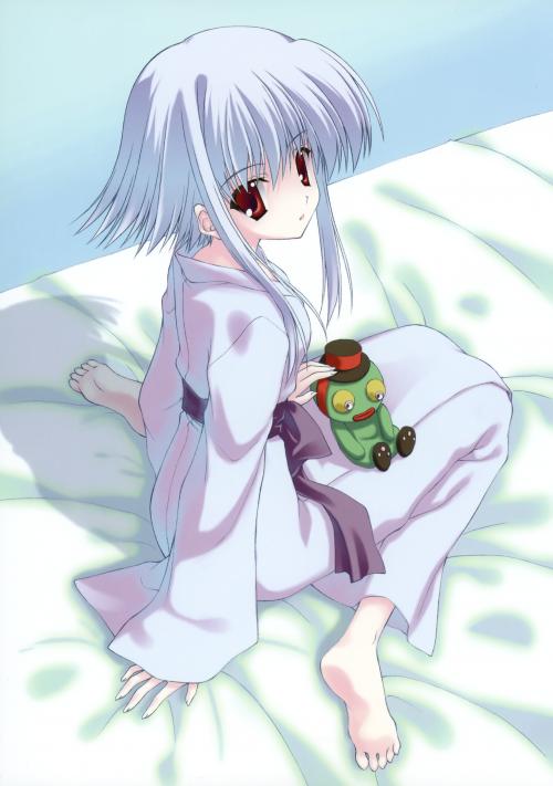 Naru Nanao Illustrations Nanatsu No Ashiato [ artbook] (152 работ)