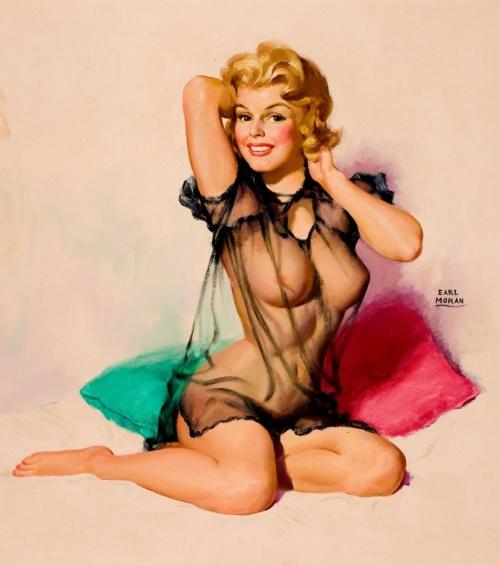 Женский образ на старой открытке 11 (243 работ)