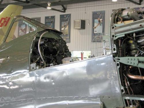 Фотообзор - английский истребитель Supermarine Spitfire Mk XVIe (58 фото)