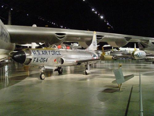 Фотообзор - американский истребитель Lockheed F-94C Starfire (30 фото)