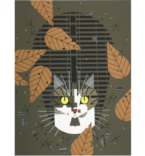 Американский иллюстратор Charley Harper (Чарли Харпер) (541 фото)