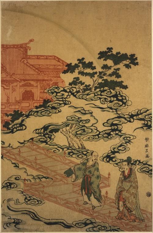Artworks by Kitagawa Utamaro (1753-1806) (1446 работ) (Часть 3)