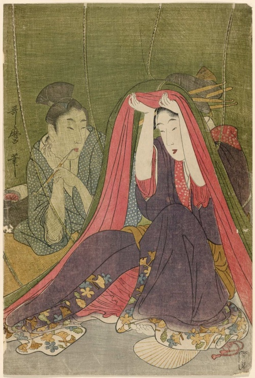 Artworks by Kitagawa Utamaro (1753-1806) (1446 работ) (Часть 3)