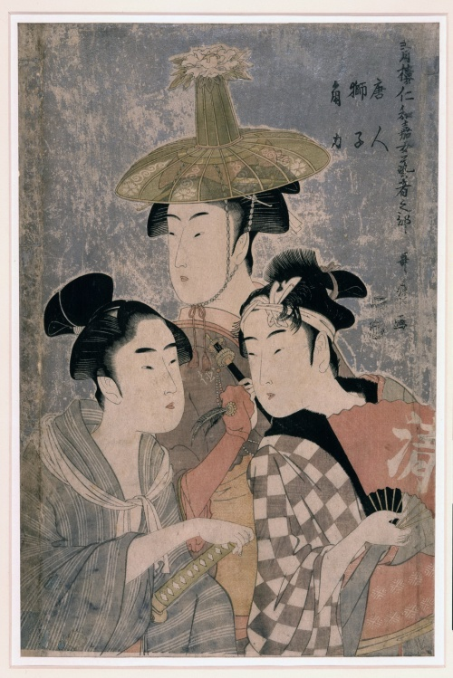 Artworks by Kitagawa Utamaro (1753-1806) (1446 работ) (Часть 1)