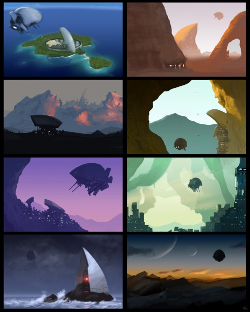 Этот Чудесный Рисованный Мир - 115 (101 работ)