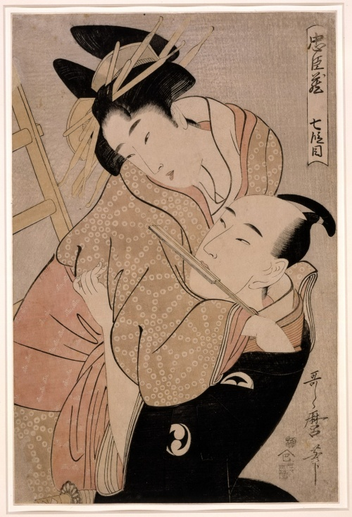 Artworks by Kitagawa Utamaro (1753-1806) (1446 работ) (Часть 2)