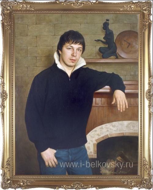 Художник Игорь Белковский. Портреты (70 фото)