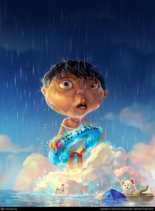 Artworks by Digital Artists for children # 1 (158 работ)