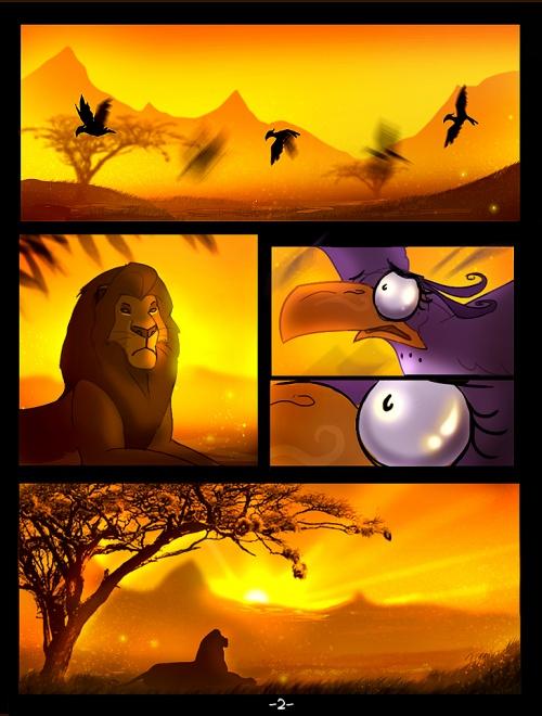 "TLK-Ileana - иллюстрации на тему ""Король Лев"" (82 фото)"