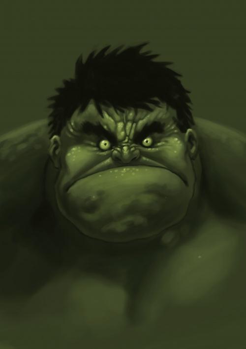 Арт Графика и Обои - Hulk (Халк) (128 работ)