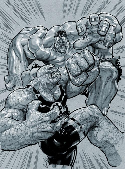 Арт Графика и Обои - Hulk (Халк) (128 фото)
