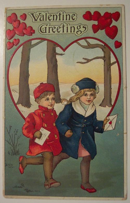 Открытки ХХ века - День святого Валентина 5 (281 фото)