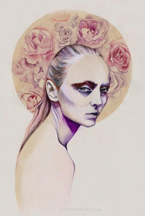 Акварельные работы Анны Даниловой (26 фото)