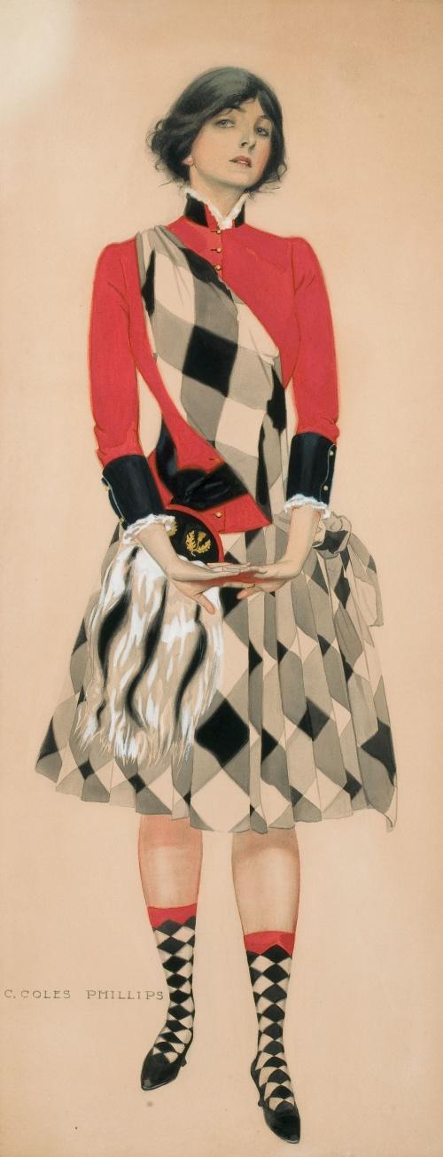 Художник-иллюстратор Clarence Coles Phillips (1880 - 1927) (123 фото)
