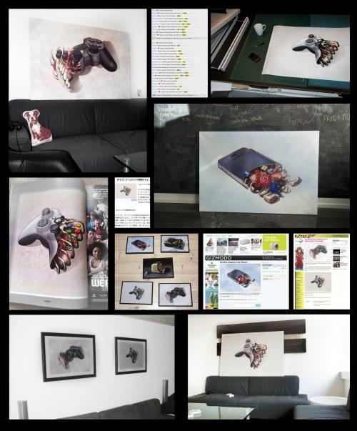 Датский художник и дизайнер Мадс Питерсен (Mads Pietersen) (45 фото)