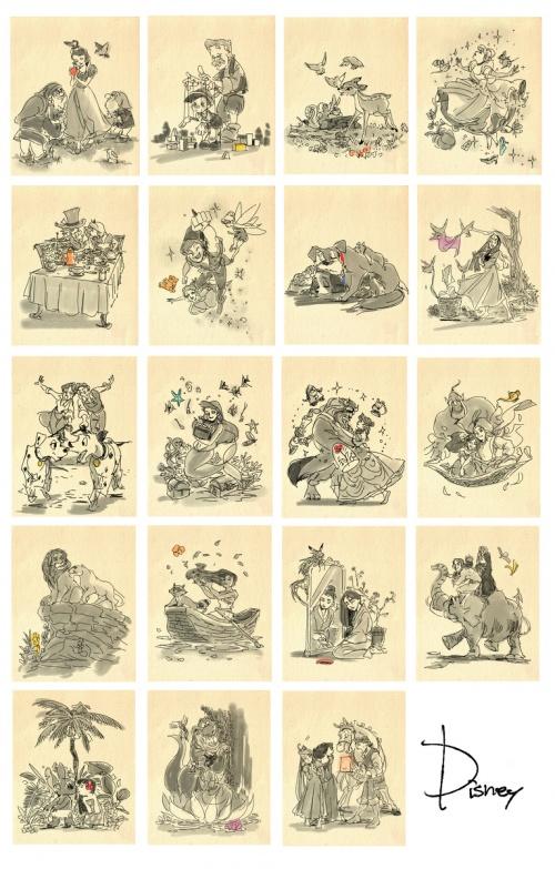 Fukamatsu - рисунки японского художника (52 фото)
