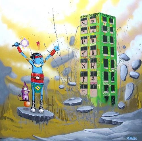 Уличный художник из Бразилии Cranio (71 фото)