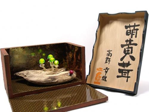Грибные светильники... Yukio Takano (50 фото)