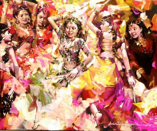 Художник Subrata Gangopadhyay (124 работ)