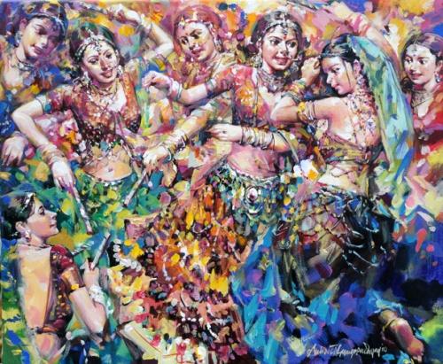 Художник Subrata Gangopadhyay (124 фото)