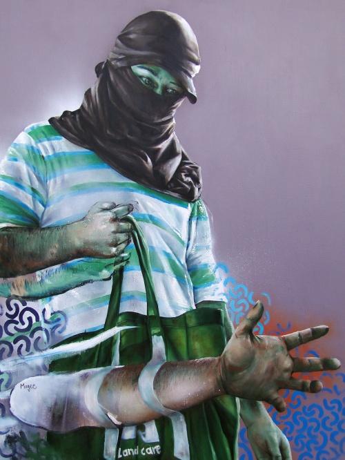 Австралийский уличный художник Финтэн Мэджи (Fintan Magee) (61 фото)