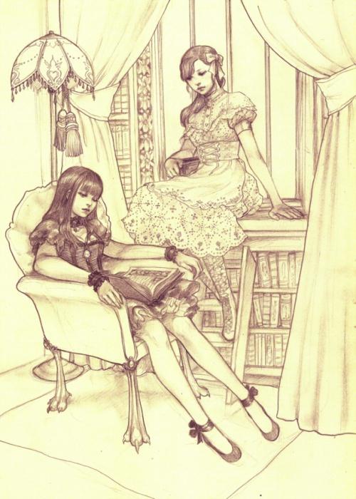 Jasmin_Darnell  - персонажи художницы из Новой Зеландии (39 работ)