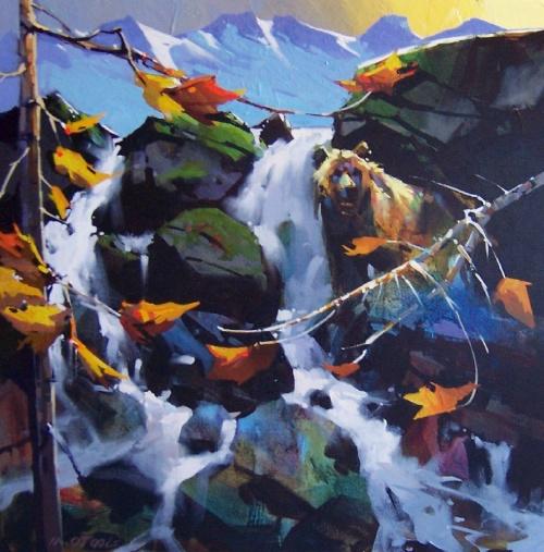 MicАкриловая живопись Michael O'Toole (68 фото)