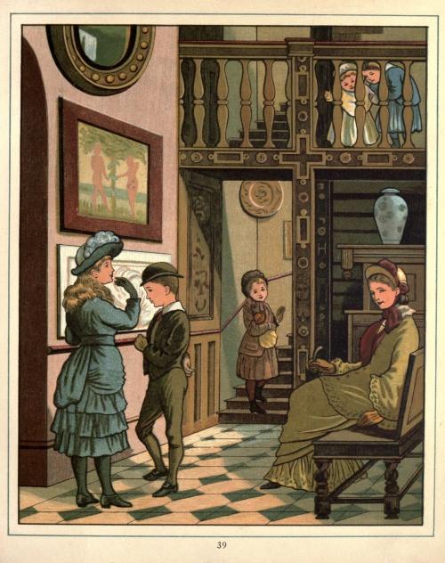 Английский иллюстратор Ellen Elizabeth Houghton (1853-1922) (59 работ)